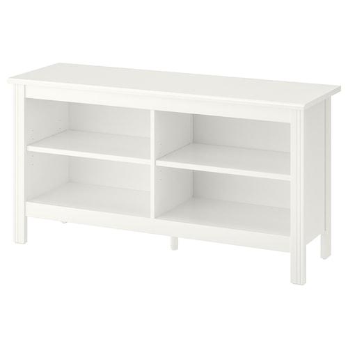 布鲁萨里 电视柜, 白色, 120x36x62 厘米