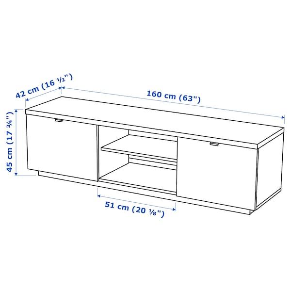 彼亚斯 电视柜 高光 白色 160 厘米 42 厘米 45 厘米 50 公斤 10 公斤