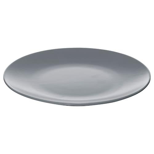 代诺拉 餐盘, 蓝灰色, 20 厘米