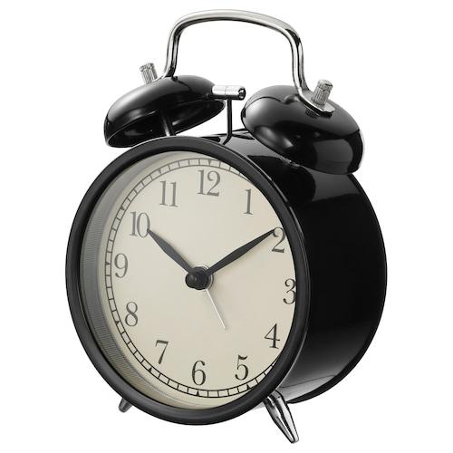 德卡 闹钟 黑色 10 厘米 6 厘米 14 厘米