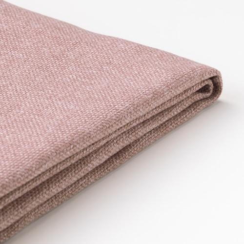 迪拉提 三人沙发坐垫垫套 刚纳瑞德 浅褐粉