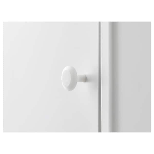 迪南 镜柜带2底柜, 白色, 80x27 厘米