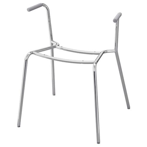 迪特马 扶手椅底框 镀铬 110 公斤 53 厘米 50 厘米 65 厘米 46 厘米
