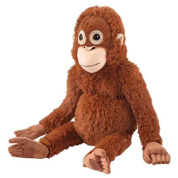 DJUNGELSKOG 尤恩格斯库格 毛绒玩具, 红猩猩