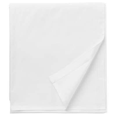 DVALA 代芙拉 床单, 白色, 240x260 厘米