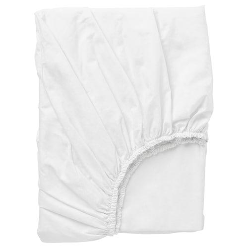代芙拉 床垫罩 白色 152 Inch² 200 厘米 120 厘米