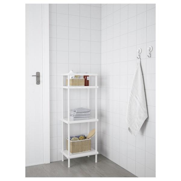 IKEA 迪南 搁架单元,附毛巾杆