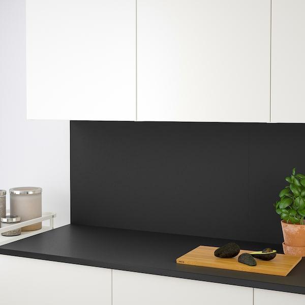宜伯肯 操作台面 无光泽 煤黑色/层压板 186 厘米 63.5 厘米 2.8 厘米
