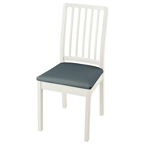 伊克多兰 椅子 白色/伊德库拉 蓝色 110 公斤 43 厘米 51 厘米 95 厘米 43 厘米 41 厘米 46 厘米