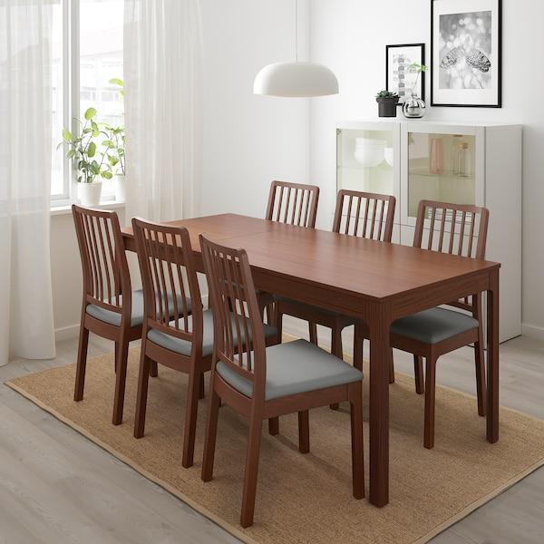 伊克多兰 椅子 褐色/欧斯塔 淡灰色 110 公斤 45 厘米 51 厘米 95 厘米 45 厘米 39 厘米 48 厘米