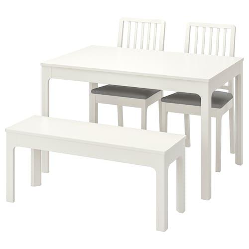 IKEA 伊克多兰 / 伊克多兰 一桌二椅带长凳