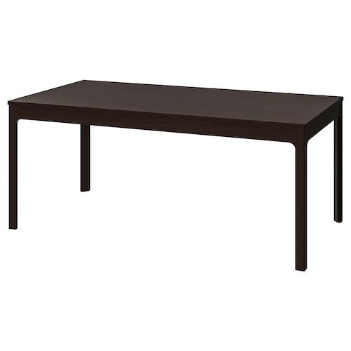 伊克多兰 伸缩型餐桌 深褐色 180 厘米 240 厘米 90 厘米 75 厘米