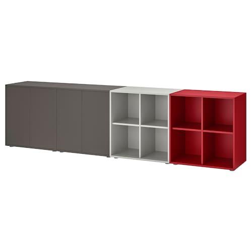 IKEA 伊克特 带支脚橱柜组合