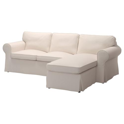 爱克托 三人沙发 带贵妃椅/洛法莱特 米黄色 252 厘米 88 厘米 88 厘米 163 厘米 45 厘米