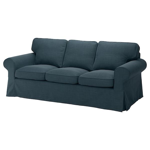 爱克托 三人沙发 西拉利德 深蓝色 218 厘米 88 厘米 88 厘米 49 厘米 45 厘米