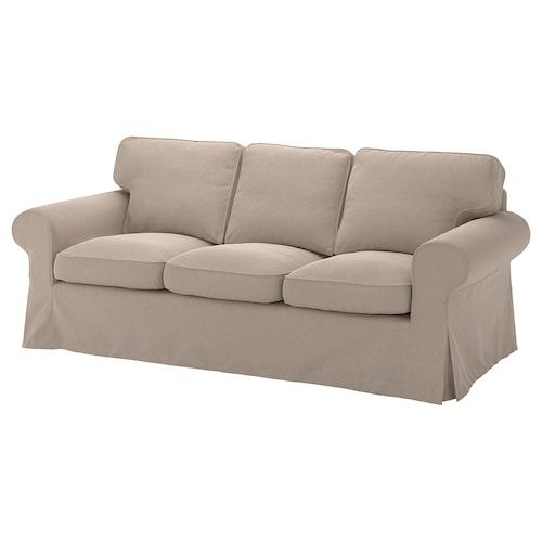 爱克托 三人沙发 塔米拉 米黄色 218 厘米 88 厘米 88 厘米 49 厘米 45 厘米