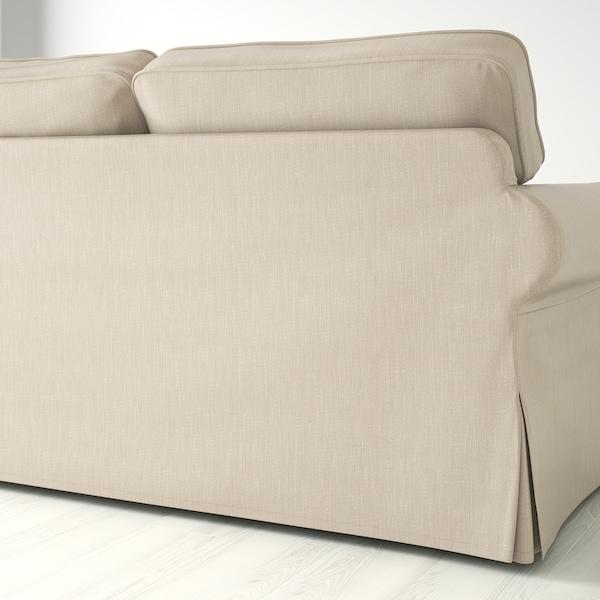 爱克托 三人沙发 诺瓦拉 深米色 218 厘米 88 厘米 88 厘米 49 厘米 45 厘米