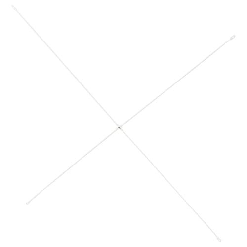 爱尔瓦丽 十字定形架 白色 80 厘米