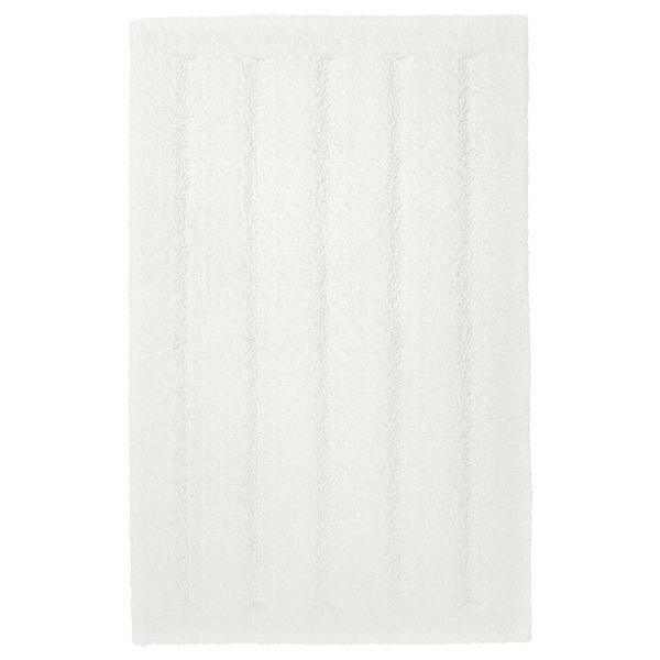 EMTEN 艾姆滕 浴室地垫, 白色, 40x60 厘米