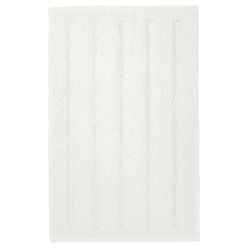 艾姆滕 浴室地垫 白色 80 厘米 50 厘米 0.40 平方米