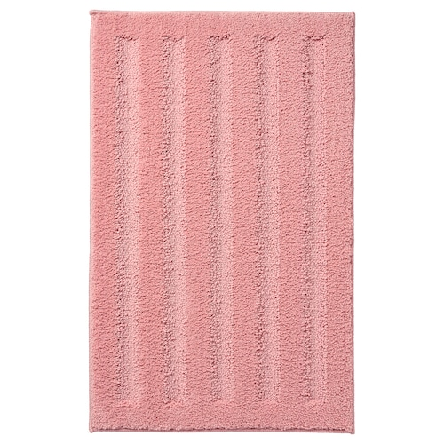 艾姆滕 浴室地垫 淡粉红色 60 厘米 40 厘米 0.24 平方米