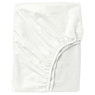 FÄRGMÅRA 法格马拉 床笠, 白色, 150x200 厘米