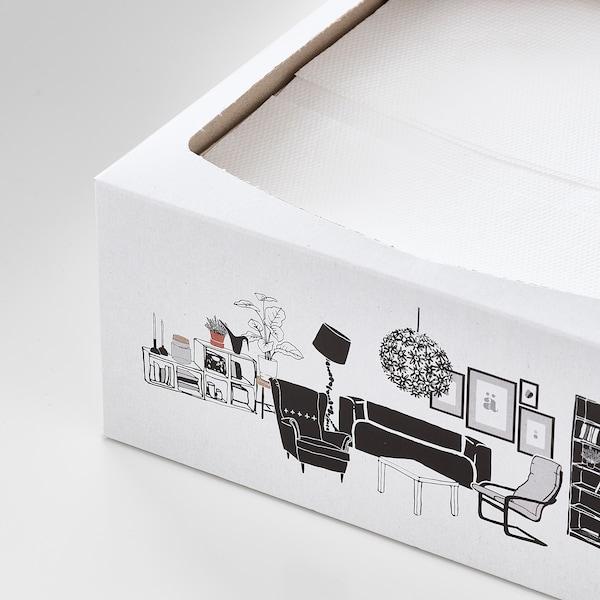 FAMILJ 发米里 餐巾纸, 白色, 16x32 厘米