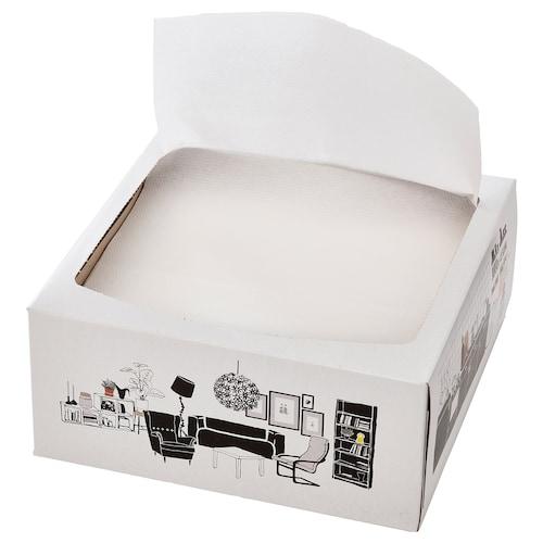 发米里 餐巾纸 白色 16 厘米 32 厘米 100 件