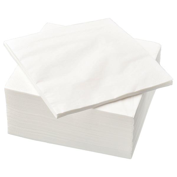FANTASTISK 范塔思 餐巾纸, 白色, 40x40 厘米