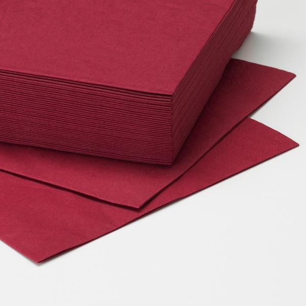 FANTASTISK 范塔思 餐巾纸, 深红色, 33x33 厘米