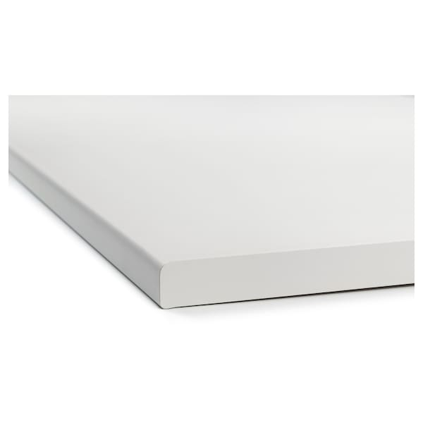 芬蒂格 操作台面, 白色/层压板, 126x60.6 厘米