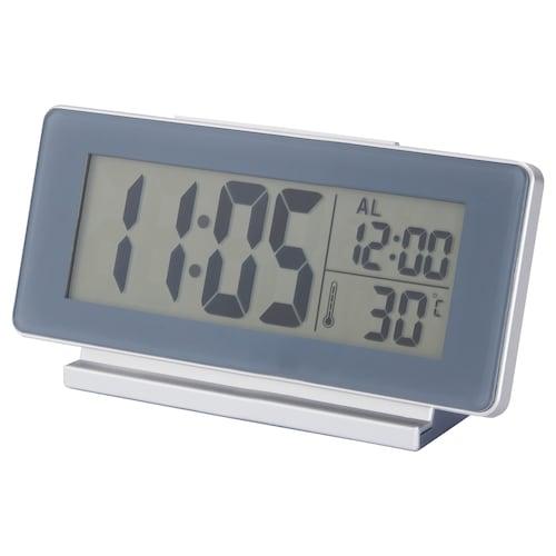 菲尔米斯 钟/温度计/闹铃 灰色 16.5 厘米 4 厘米 9 厘米
