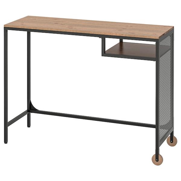 FJÄLLBO 耶伯 笔记本电脑桌, 黑色, 100x36 厘米