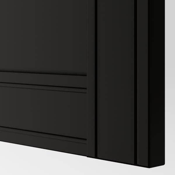 弗里伯加 柜门 煤黑色 49.5 厘米 194.6 厘米 201.2 厘米 1.9 厘米