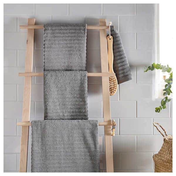 福鲁朵恩 浴巾 灰色 140 厘米 70 厘米 0.98 平方米 700 克/平方米