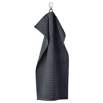 FLODALEN 福鲁朵恩 毛巾, 深灰色, 40x70 厘米