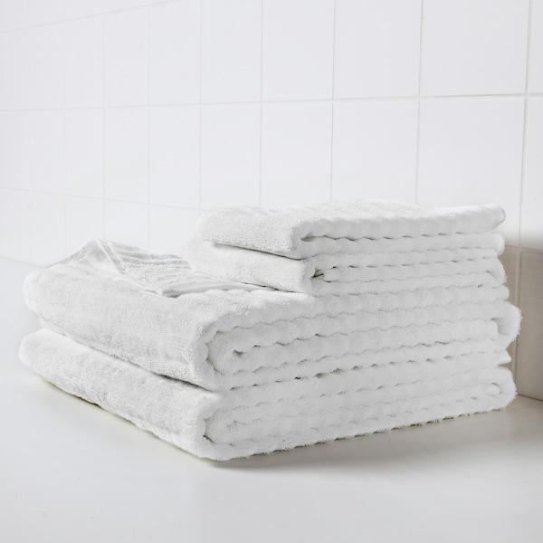 FLODALEN 福鲁朵恩 小方巾, 白色, 30x30 厘米