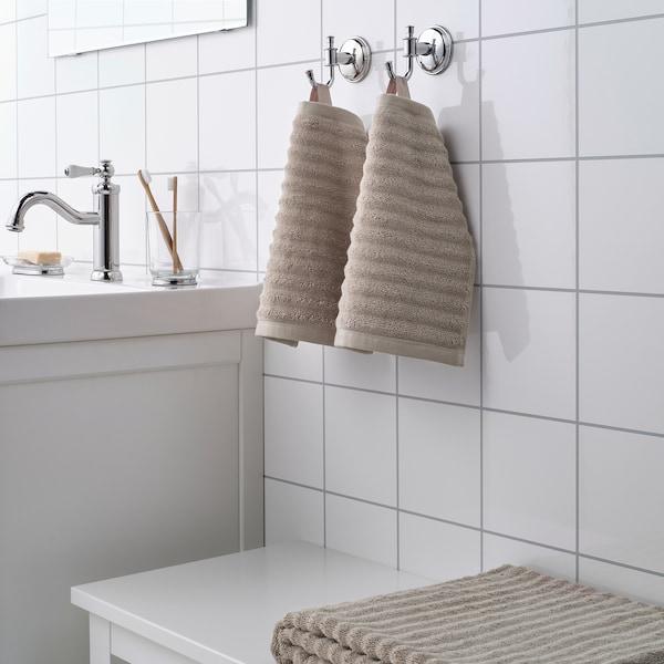 FLODALEN 福鲁朵恩 小方巾, 深米色, 30x30 厘米