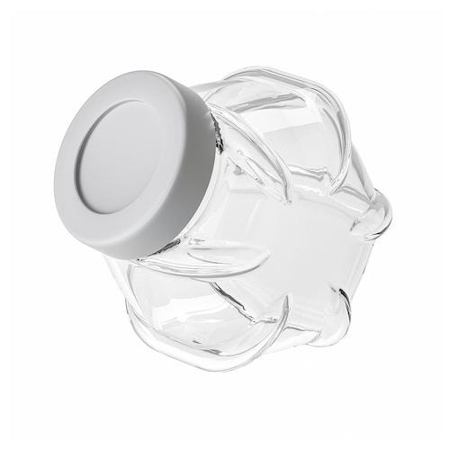 芬华 附盖罐 玻璃/铝色 18 厘米 1.8 公升