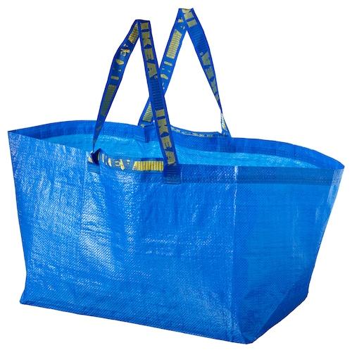 弗拉塔 编织袋,大 蓝色 55 厘米 37 厘米 35 厘米 25 公斤 71 公升