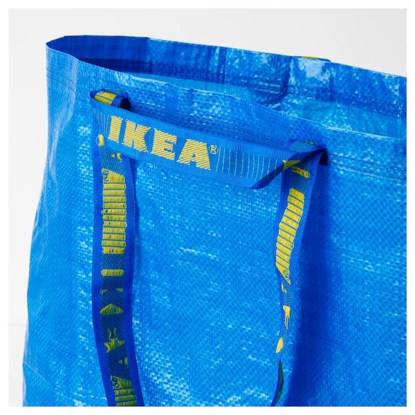 FRAKTA 弗拉塔 搬运袋,中, 蓝色, 36 公升