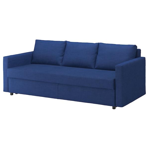FRIHETEN 弗瑞顿 三人沙发床, 斯科特伯 蓝色