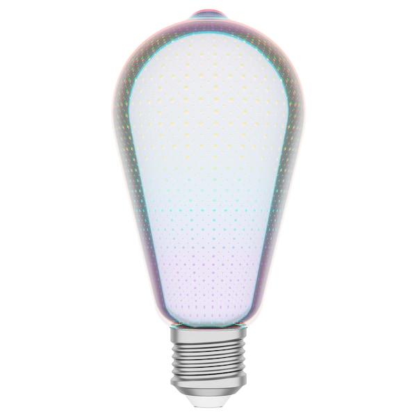 嘉姆赛博 LED灯泡 E27 16流明 水滴状 玻璃 64 毫米 1.5 瓦特