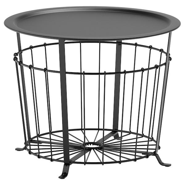 格拉瓦 储物桌, 黑色, 60 厘米