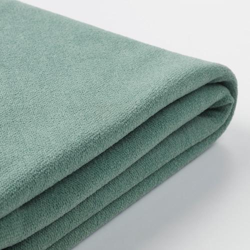 格罗恩里德 4人转角沙发床套, 单边开放式/利恩金 浅绿