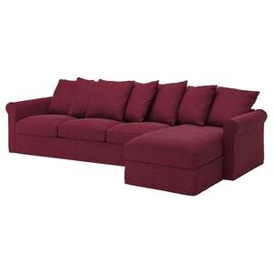 套: 带贵妃椅/塔米拉 深红色.