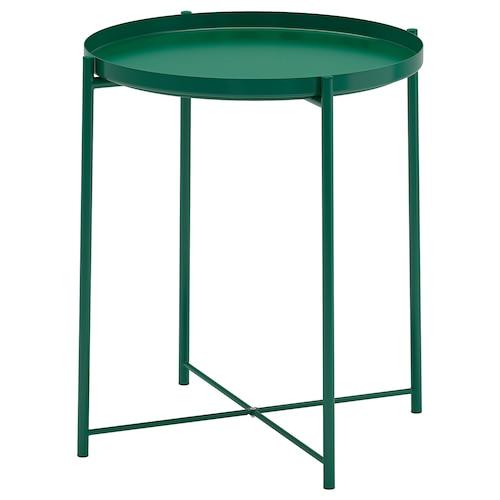 格拉登 托盘桌 绿色 53 厘米 45 厘米