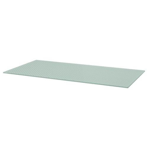 格拉什姆 桌面 玻璃/蜂巢图案 148 厘米 73 厘米 1.0 厘米 50 公斤