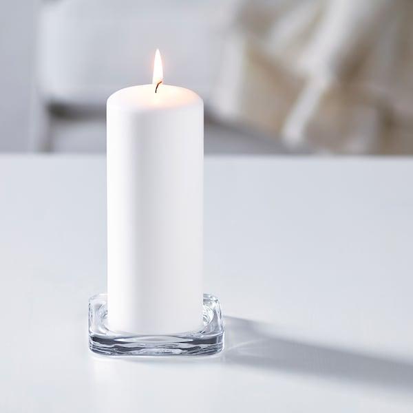 格拉奇 蜡烛盘 透明玻璃 10 厘米 10 厘米 1.5 厘米