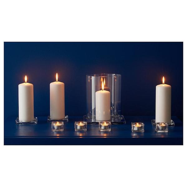 GLASIG 格拉奇 蜡烛盘, 透明玻璃, 10x10 厘米